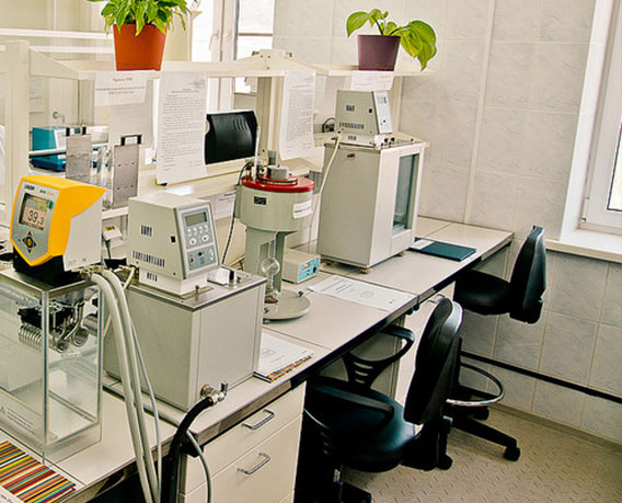 Лаборатория Черкасской нефтебазы
